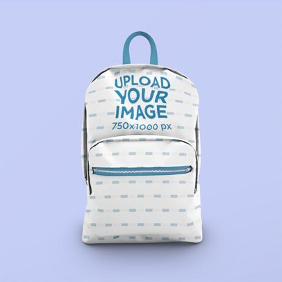 Minimalistic Mockup of a Sublimated Backpack 3544-el1