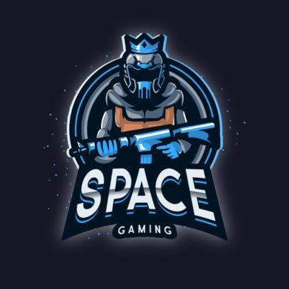 Gaming Squad Logo Maker Featuring 3D Characters 888-el1