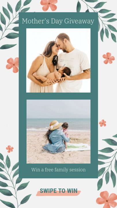 Instagram Story Generator with a Mother's Day Theme 2451f