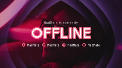 Twitch Offline Banner Maker with a Surrealistic-Looking Frame 2449e