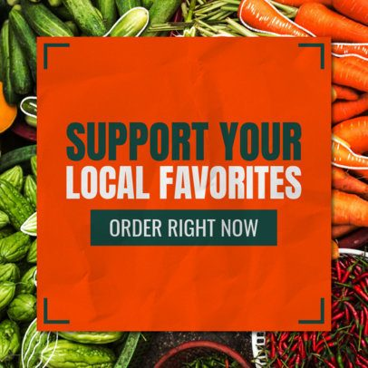 Banner Maker to Support Local Grocery Stores 546k-2479