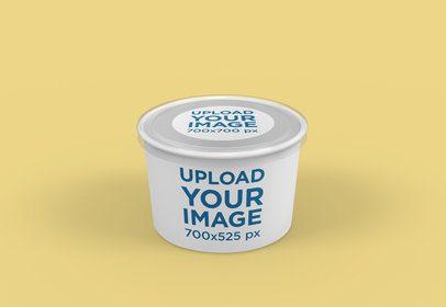Food Packaging Mockup of a Soup Bowl 4005-el1