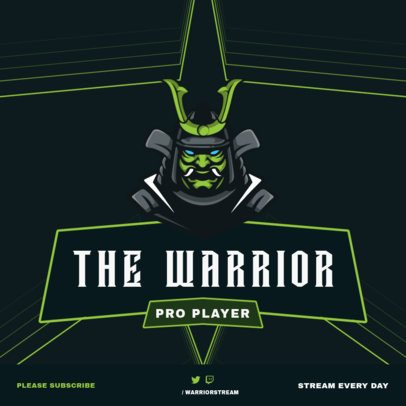 Instagram Post Creator for Gamers Featuring Strong Warriors 1114-el1