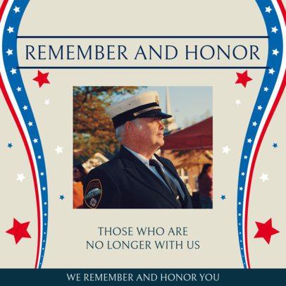 Instagram Post Creator to Honor Military War Heroes 2485g