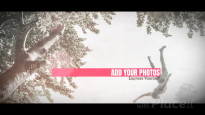 Minimal Photo Slideshow Video Generator With Animated Text and Sliding Transitions 1650-el1