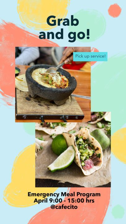 Instagram Story Maker for Food Promos and Recipes 2525