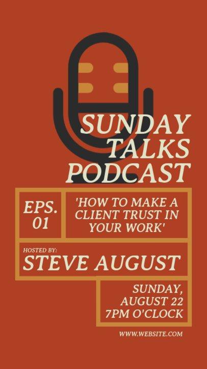 Flyer Maker for a Podcast Promotional 1407-el1
