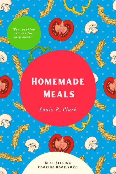 eBook Cover Template for Homemade Meals 1415a-el1