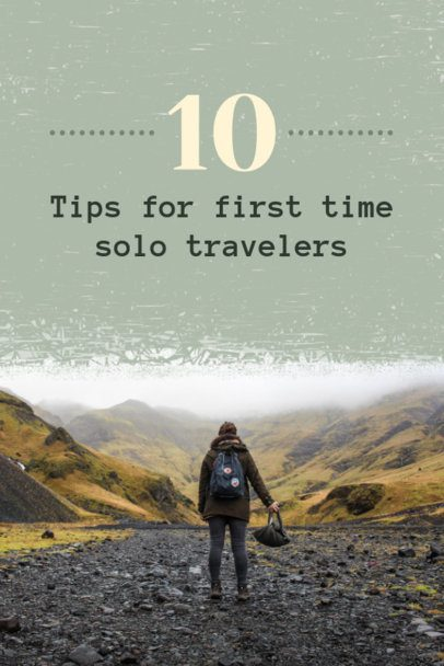 Solo Traveler Tips Pinterest Pin Maker 614a