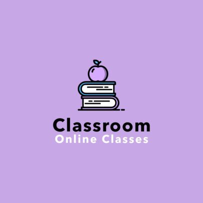 Logo Template for an Online Classroom 1501a-el1
