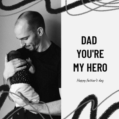 Instagram Post Creator to Celebrate Dad on His Day 2545l