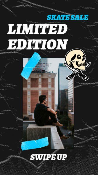 Instagram Story Creator for a Skateboards Sale 2534e