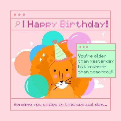 Instagram Post Maker to Send Virtual Birthday Wishes 2549