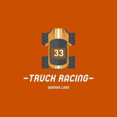 Gaming Logo Maker Featuring Graphics of Race Cars 1648-el1
