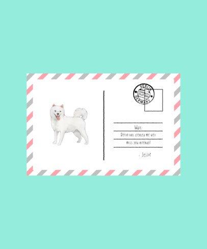 Watercolor T-Shirt Design Creator with a Dog Illustration 1537c-el1