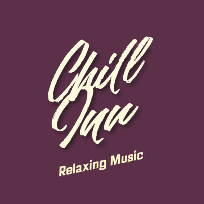 Music Logo Maker with a Relaxed Typographic Style 3299b