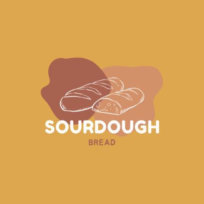 Logo Creator Featuring a Sourdough Bread 1746a-el1