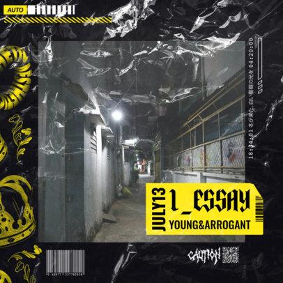 Album Cover Design Maker for a Hype New Artist 2585g