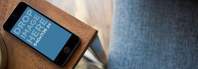 iPhone 5s Grey Table Top Shot