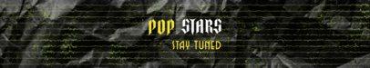 Bandcamp Header Maker for a Rising Pop Star Channel 2600f