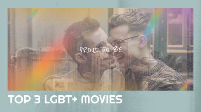 YouTube Thumbnail Design Generator for an LGBT Movie Ranking 2648c