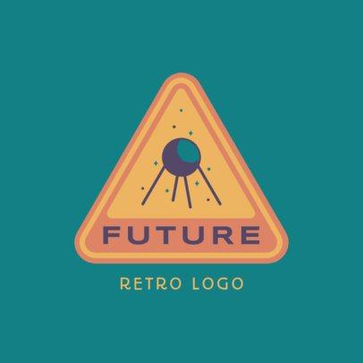 Retro Logo Generator Featuring a Satellite Illustration 3451b