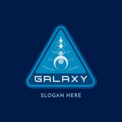 Retro Logo Maker Featuring an Intergalactic Emblem 3451d