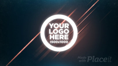 Intro Maker with a Frantic Logo Reveal 498-el1
