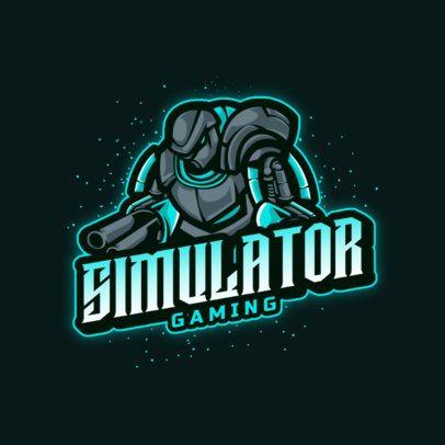 Logo Maker Featuring Aliens and Robots 2367-el1