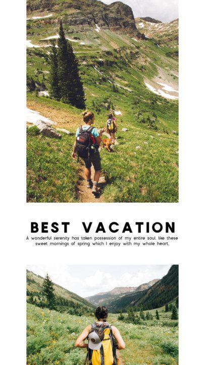 Instagram Story Template for Adventurous Bloggers 2485-el1
