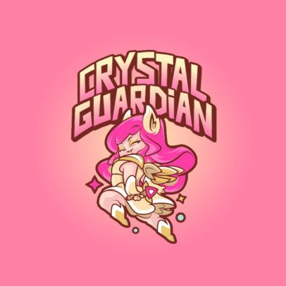 Logo Maker with Cartoonish Graphics Inspired In League of Legends Characters 3598