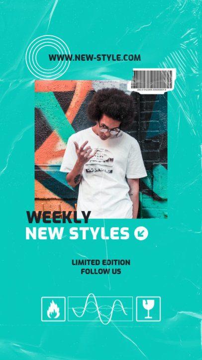 Instagram Story Maker for a New Music Merchandise Announcement 2878e-el1