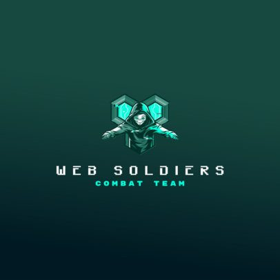 Free Logo Maker Featuring a Masked Hacker 3693x