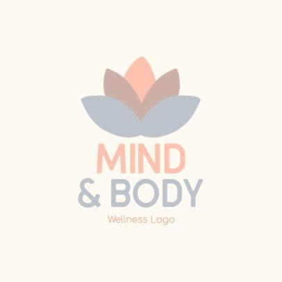 Minimalist Logo Creator for a Wellness-Related Service 3696x