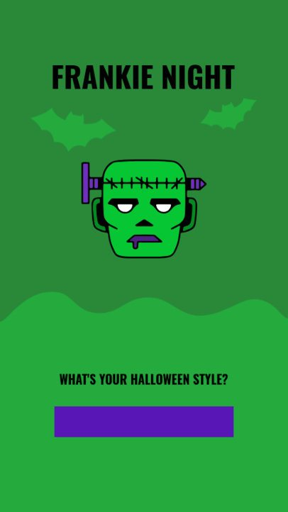 Spooky Halloween-Themed Instagram Story Creator to Ask a Question 2954d-el1