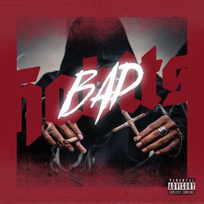 Album Cover Creator for Gangsta Rap and Trap Musicians 2983p