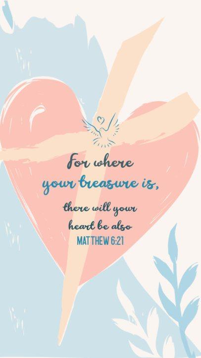 Instagram Story Design Creator with a Proverbs Phrase 2986e