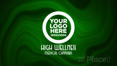 Cannabis-Themed Intro Template with a Logo-Reveal Animation 2325
