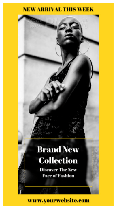 Instagram Story Video Maker for a Clothing Brand's New Collection Announcement 2354-el1