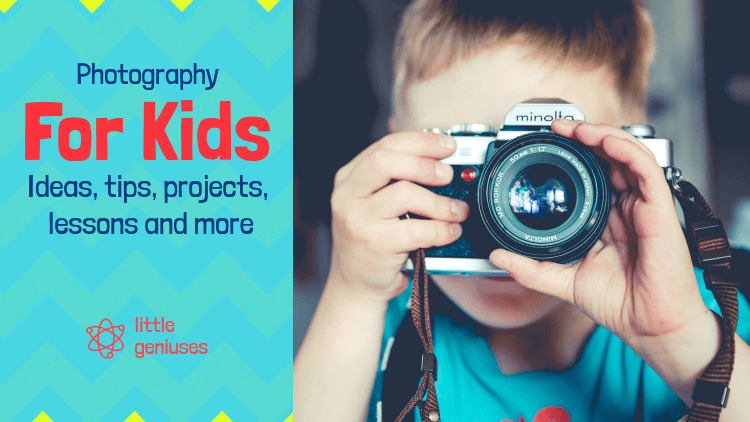 YouTube Thumbnail Creator for a Class About Photography for Kids 3034k