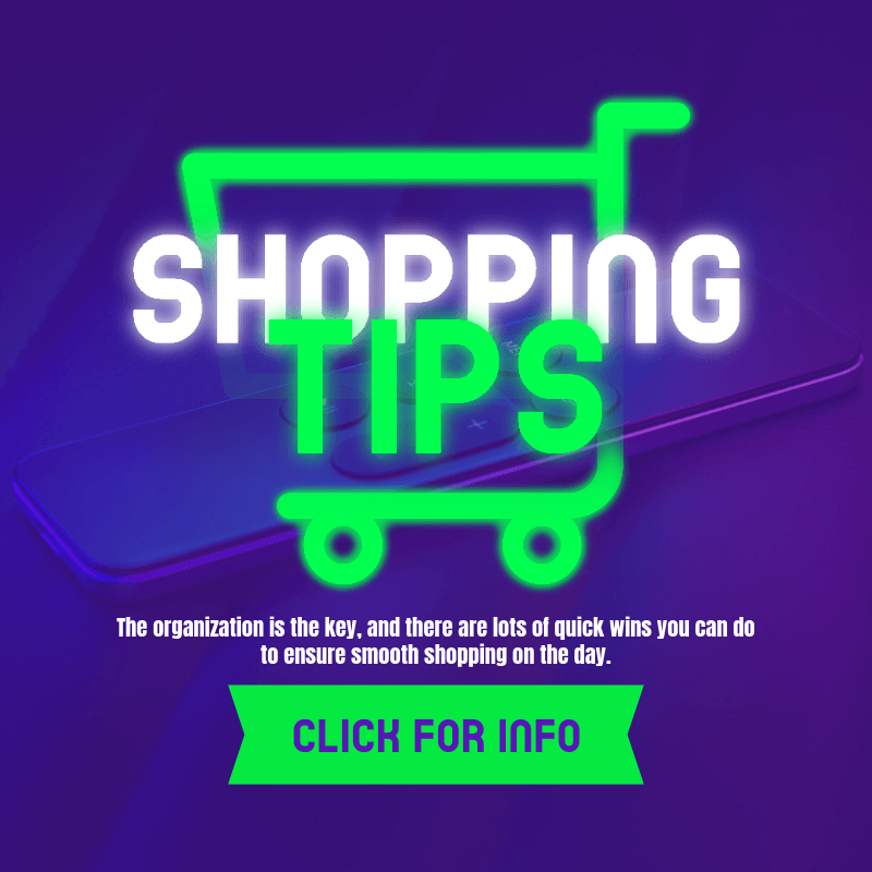 Ad Banner Design Template for Black Friday with a Neon Shopping Cart Icon 3031c