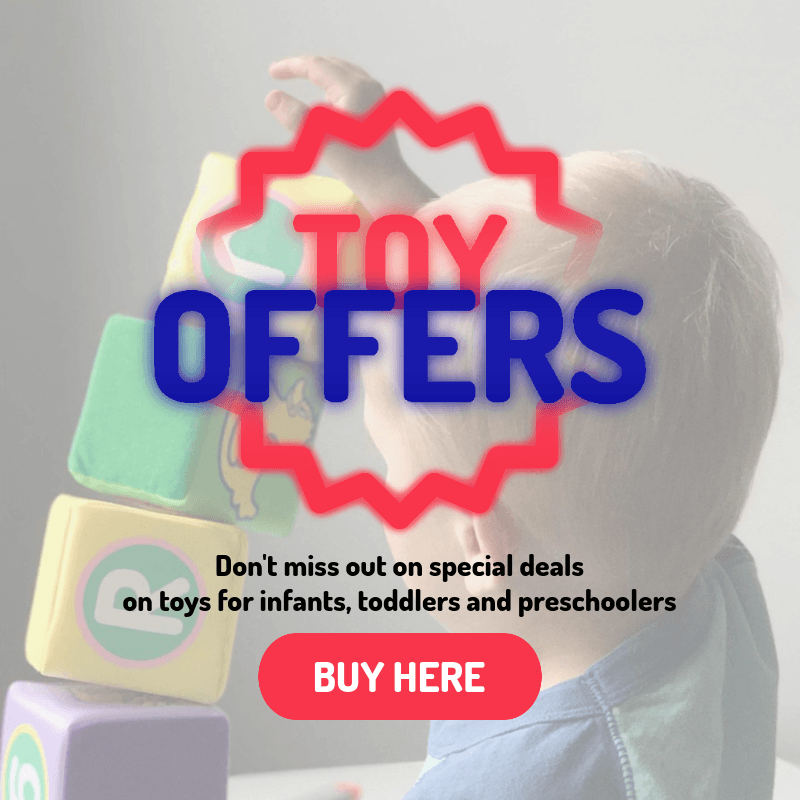 Ad Banner Design Template for Toy Offers on Black Friday 3031e
