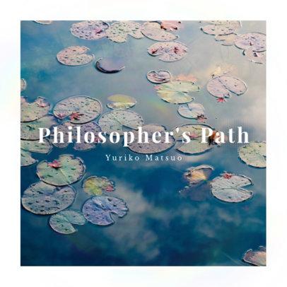 Online Album Cover Design Maker for Ambient Music 3061c