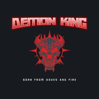 Logo Generator for an Avant-Garde Metal Musician 3772j