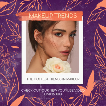 Instagram Post Generator for Makeup Trends in MLM Beauty Products 3066e
