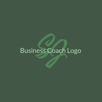 Minimal Logo Maker for a Business Coach with an Elegant Aesthetic 3793h