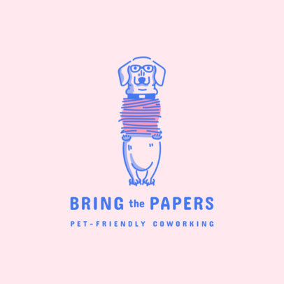 Logo Creator for a Pet-Friendly Coworking Space 3787d