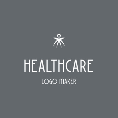 Minimal Logo Template for a Healthcare Company or Service 3815a