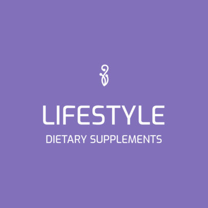 Elegant Logo Maker for a Supplements Company with an Elegant Style 3815d