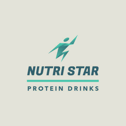 MLM-Themed Logo Maker for a Protein Drink 3830c